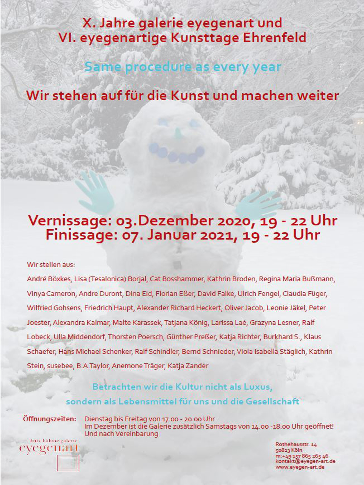 Kunsttage | Köln