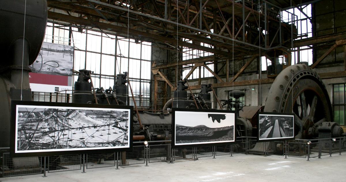 Industriekulisse für die Kunst